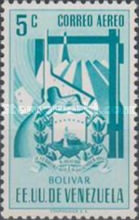 [Airmail - Coat of Arms - State of Bolivar, type ABJ7]