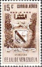 [Airmail - Coat of Arms - State of Miranda, type ACP10]