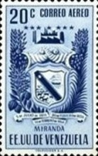 [Airmail - Coat of Arms - State of Miranda, type ACP11]