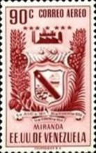 [Airmail - Coat of Arms - State of Miranda, type ACP15]