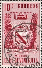 [Airmail - Coat of Arms - State of Miranda, type ACP9]