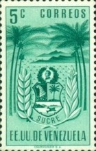 [Coat of Arms - State of Sucre, type ADF]