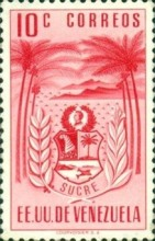 [Coat of Arms - State of Sucre, type ADF1]