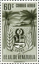 [Airmail - Coat of Arms - State of Sucre, type ADF13]