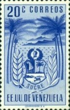 [Coat of Arms - State of Sucre, type ADF3]