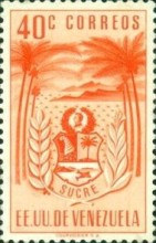 [Coat of Arms - State of Sucre, type ADF4]