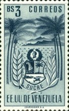 [Coat of Arms - State of Sucre, type ADF6]