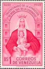 [The 300th Anniversary of Apparition of Our Lady of Coromoto - In 3 Sizes, type AEJ2]