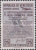 [Airmail - The 10th Pan-American Conference, Caracas, type ANT6]