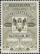 [Airmail - The 400th Anniversary of Valencia Del Rey, type AOU10]