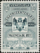 [Airmail - The 400th Anniversary of Valencia Del Rey, type AOU4]