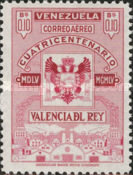 [Airmail - The 400th Anniversary of Valencia Del Rey, type AOU5]