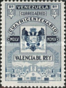[Airmail - The 400th Anniversary of Valencia Del Rey, type AOU6]