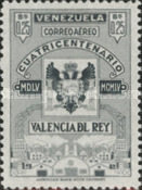 [Airmail - The 400th Anniversary of Valencia Del Rey, type AOU7]