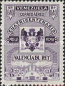 [Airmail - The 400th Anniversary of Valencia Del Rey, type AOU8]