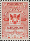 [Airmail - The 400th Anniversary of Valencia Del Rey, type AOU9]