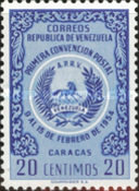 [The 1st Postal Convention, Caracas, type APF1]