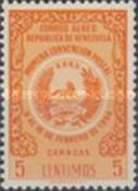 [Airmail - The 1st Postal Convention, Caracas, type APF4]