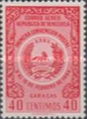 [Airmail - The 1st Postal Convention, Caracas, type APF7]