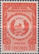 [Airmail - The 1st Postal Convention, Caracas, type APF8]