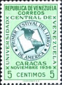 [The 1st American Book Festival, Caracas, type AQF]