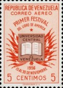 [Airmail - The 1st American Book Festival, Caracas, type AQN]