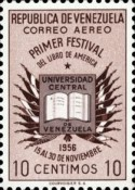 [Airmail - The 1st American Book Festival, Caracas, type AQN1]