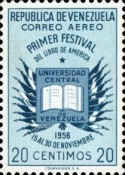 [Airmail - The 1st American Book Festival, Caracas, type AQN2]
