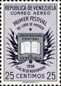[Airmail - The 1st American Book Festival, Caracas, type AQN3]