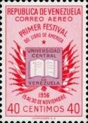 [Airmail - The 1st American Book Festival, Caracas, type AQN4]