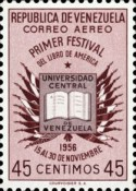 [Airmail - The 1st American Book Festival, Caracas, type AQN5]