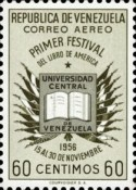 [Airmail - The 1st American Book Festival, Caracas, type AQN6]