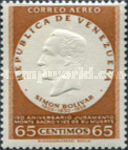 [Airmail - The 150th Anniversary of Oath of Monte Sacro and the 125th Anniversary of the Death of Simon Bolivar, 1783-1830, type ARU13]