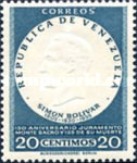 [The 150th Anniversary of Oath of Monte Sacro and the 125th Anniversary of the Death of Simon Bolivar, 1783-1830, type ARU2]