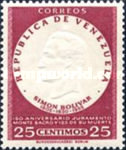 [The 150th Anniversary of Oath of Monte Sacro and the 125th Anniversary of the Death of Simon Bolivar, 1783-1830, type ARU3]