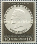 [Airmail - The 150th Anniversary of Oath of Monte Sacro and the 125th Anniversary of the Death of Simon Bolivar, 1783-1830, type ARU8]