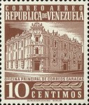 [Airmail - Caracas Central Post Office, type ASI12]