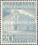 [Airmail - Caracas Central Post Office, type ASI14]