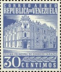 [Airmail - Caracas Central Post Office, type ASI16]