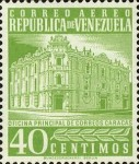 [Airmail - Caracas Central Post Office, type ASI18]