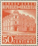 [Airmail - Caracas Central Post Office, type ASI19]