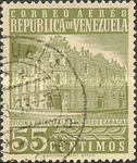 [Airmail - Caracas Central Post Office, type ASI20]