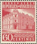 [Airmail - Caracas Central Post Office, type ASI21]