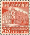 [Airmail - Caracas Central Post Office, type ASI22]