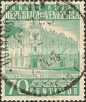 [Airmail - Caracas Central Post Office, type ASI23]