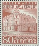 [Airmail - Caracas Central Post Office, type ASI25]