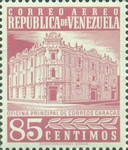 [Airmail - Caracas Central Post Office, type ASI26]