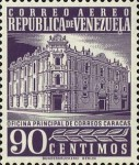 [Airmail - Caracas Central Post Office, type ASI27]