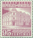 [Airmail - Caracas Central Post Office, type ASI28]