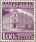 [Airmail - Caracas Central Post Office, type ASI29]